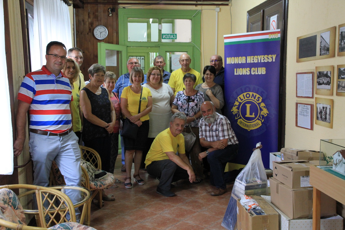 Monor Hegyessy Lions Club Nagybecskereken