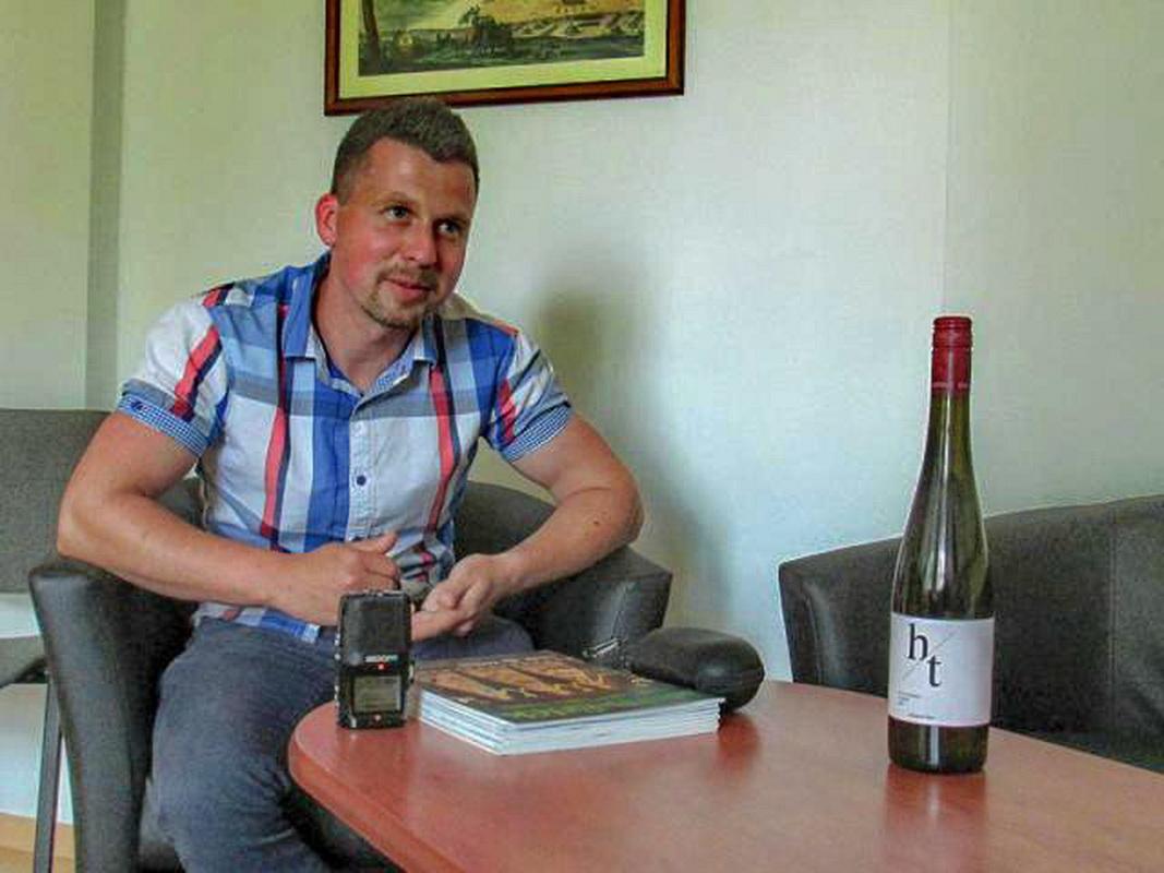 Hidegkuti Tibor borász