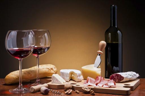 Borturizmus, bor és étel