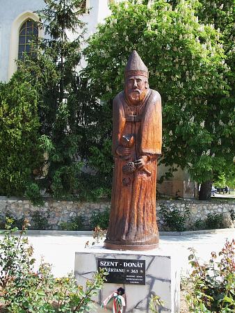 Szent Donát számos borvidéken szőlővédőszent