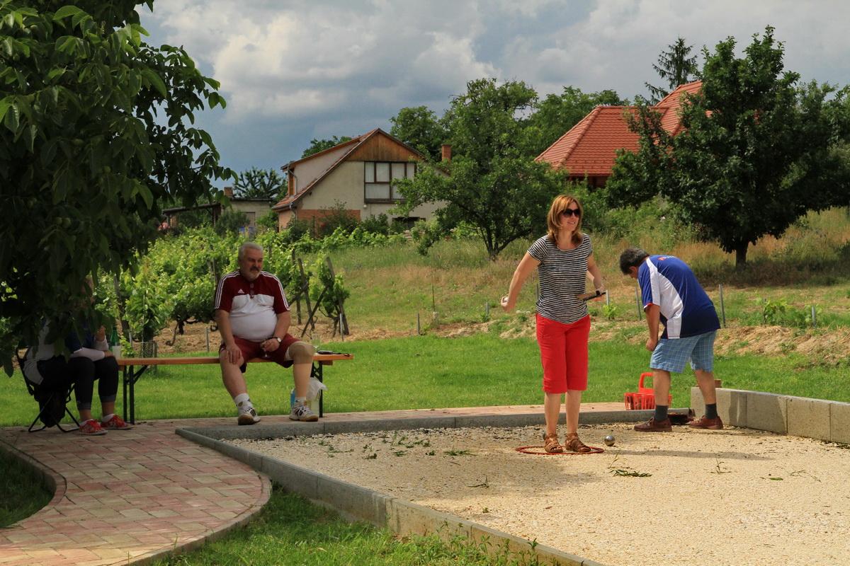 A Pétanque-ot minden korosztály játszhatja, fiataltól nagypapáig, nők és férfiak egyaránt. A játék különleges felszerelést nem igényel, csak három fém pétanque golyót és egy kis fagolyót.