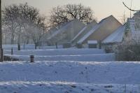 Tél a szőlőhegyen